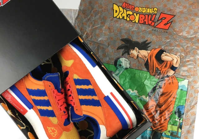 Ελληνική κοινότητα dragon ball - παπούτσια adidas - goku